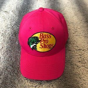 🐟 Bass Pro Shops Women's Snap Back Hat Pink
